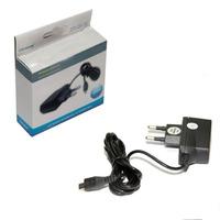 Сетевое зарядное устройство microUSB, Glossar 1А, черный