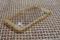 Чехол-накладка на Apple iPhone 6/6S Plus, силикон, ультратонкий, золотистый
