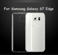 Чехол-накладка на Samsung S7 Edge силикон, ультратонкий, прозрачный
