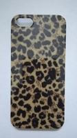 Чехол-накладка на Apple iPhone 5/5S, пластик, colorfull, leopard 2