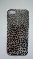 Чехол-накладка на Apple iPhone 5/5S, пластик, colorfull, leopard 4