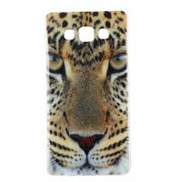 Чехол-накладка на Samsung A3 силикон, leopard