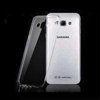 Чехол-накладка на Samsung А8 силикон, ультратонкий, прозрачный