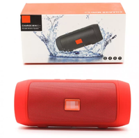 Портативная колонка, JB Charge mini 2+, Bluetooth, FM, USB, TF, микрофон, красный