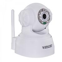 IP-камера Wanscam HW0024, 720p, Wi-Fi, LAN, microSD, вращение 360 гр, ночной режим, белый