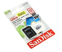 Карта памяти MicroSDHC 32GB SanDisk, Class 10 (без SD адаптера)