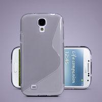 Чехол-накладка на Samsung S4 mini силикон, серый