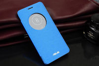 Чехол-книжка для Asus Zenfone 5 полиуретан, синий