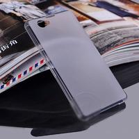 Чехол-накладка на Sony Xperia Z1 compact пластик, ультратонкий, белый