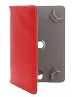Универсальный чехол, 10.1'', кожа, красный