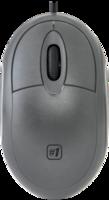 Мышь проводная, Defender MS-900, оптическая, 3кн, серый