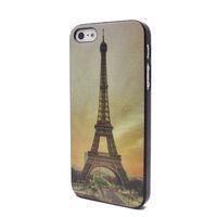 Чехол-накладка на Apple iPhone 5/5S, пластик, Effiel Tower 2