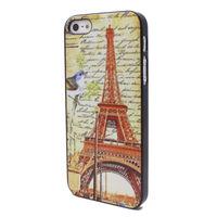 Чехол-накладка на Apple iPhone 5/5S, пластик, Effiel Tower 3