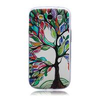 Чехол-накладка на Samsung S3 силикон, ультратонкий, painted 3
