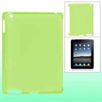 Чехол-накладка для Apple iPad 2/3/4, пластик, зеленый
