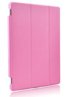 Чехол Front-cover для Apple iPad mini 1,2,3, полиуретан, розовый