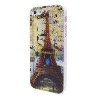 Чехол-накладка на Apple iPhone 5/5S, пластик, Effiel Tower