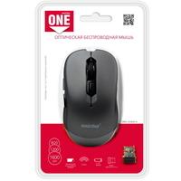 Мышь беспроводная, Smart Buy 220 SBM-200AG-G ONE, оптическая, 5кн, серый