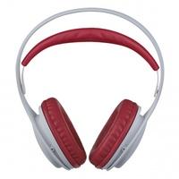 Наушники Perfeo ONTO, полноразмерные, 1.2 м, белый, красный (PF_4411)