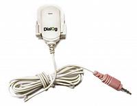 Микрофон Dialog M-100W, конденсаторный на прищепке, белый