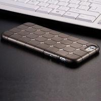 Чехол-накладка на Apple iPhone 6/6S, силикон, quad, черный