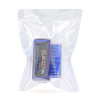 Диагностический сканер ELM327 OBD2 v.1.5, Bluetooth, 9112, синий, 25K80, bpack