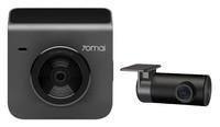 Видеорегистратор с камерой заднего вида Xiaomi 70mai dash cam A400, 2.7K, 2'', Wi-Fi