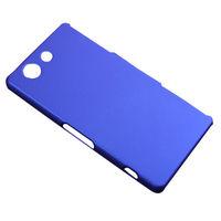 Чехол-накладка на Sony Xperia Z3 compact пластик, синий
