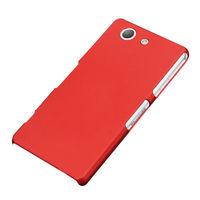 Чехол-накладка на Sony Xperia Z3 compact пластик, красный