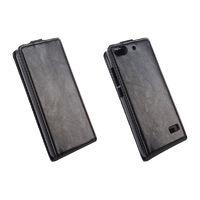 Флип-кейс для Huawei Honor 4C кожа, черный