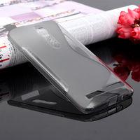 Чехол-накладка для Asus Zenfone 2 5.5'' (ZE550ML/ZE551ML) силикон, S-line, серый