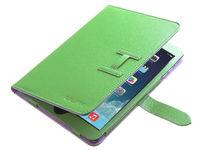 Чехол Smart-case для Apple iPad mini 1,2,3, кожа, с язычком, зеленый