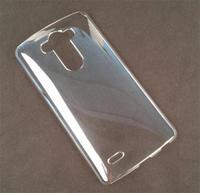 Чехол-накладка LG G3 s (D724) пластик, прозрачный
