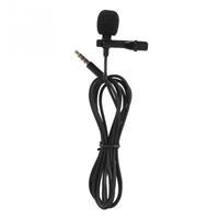 Микрофон GL-119, на прищепке, 1,8 м, черный