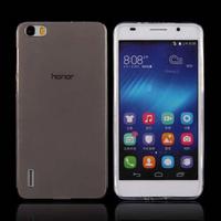 Чехол-накладка для Huawei Honor 6 силикон, черный
