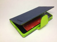 Чехол-книжка LG Optimus G (E975), кожа, синий