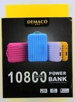 Портативный аккумулятор 10800mAh, Demaco DK-18