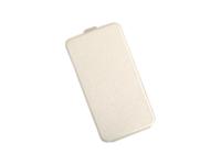 """Флип-кейс универсальный, силик.бампер, 5.5"""", белый"""