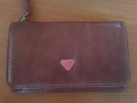 Чехол-бумажник универсальный, иск кожа, 5'', розовый