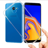 Чехол-накладка на Samsung J4 Core (J410) (2018) силикон, ультратонкий, прозрачный