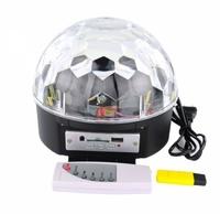 Диско шар Огонёк ZF-M6B, mp3, USB, SD, Bluetooth, пульт ДУ