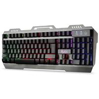 Клавиатура проводная Smart Buy 354 Rush (SBK-354GU-K), USB, игровая, мультимедийная, с подсветкой, ч