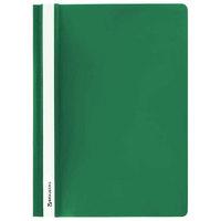 Скоросшиватель для файлов, inФОРМАТ, пластиковый, 180мкм, зеленый