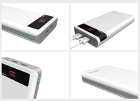 Портативный аккумулятор PowerBank 20000mAh, Romoss Sense 6P, 2xUSB, QC3.0, LCD