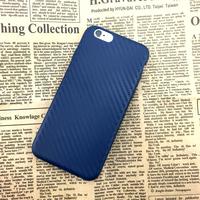 Чехол-накладка на Apple iPhone 7/8 Plus, силикон, карбон, синий