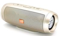 Портативная колонка, Орбита OT-SPB105, Bluetooth, USB, FM, TF, AUX, 10Вт, 1200 mAh, синхр., золотист