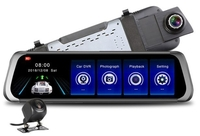 "Видеорегистратор зеркало с камерой заднего вида TDS TS-CAR15(L1012) , FHD, 10.0"", сенсор"