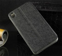 Чехол-книжка на HTC One M8 полиуретан, черный