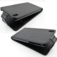 Флип-кейс на HTC Desire 816 кожа, черный