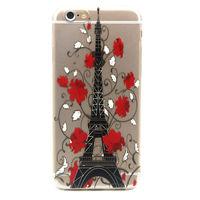 Чехол-накладка на Apple iPhone 6/6S Plus, силикон, Paris